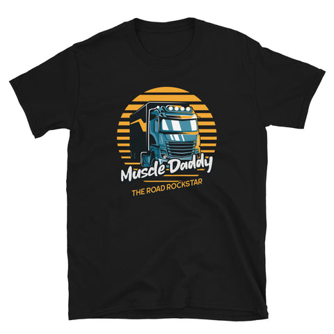 Muscle Daddy The Road Rockstar T-Shirt