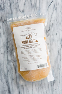 Beef Bone Broth: 32oz LOCAL PICKUP