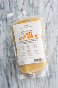 Turkey Bone Broth: 32oz LOCAL PICKUP
