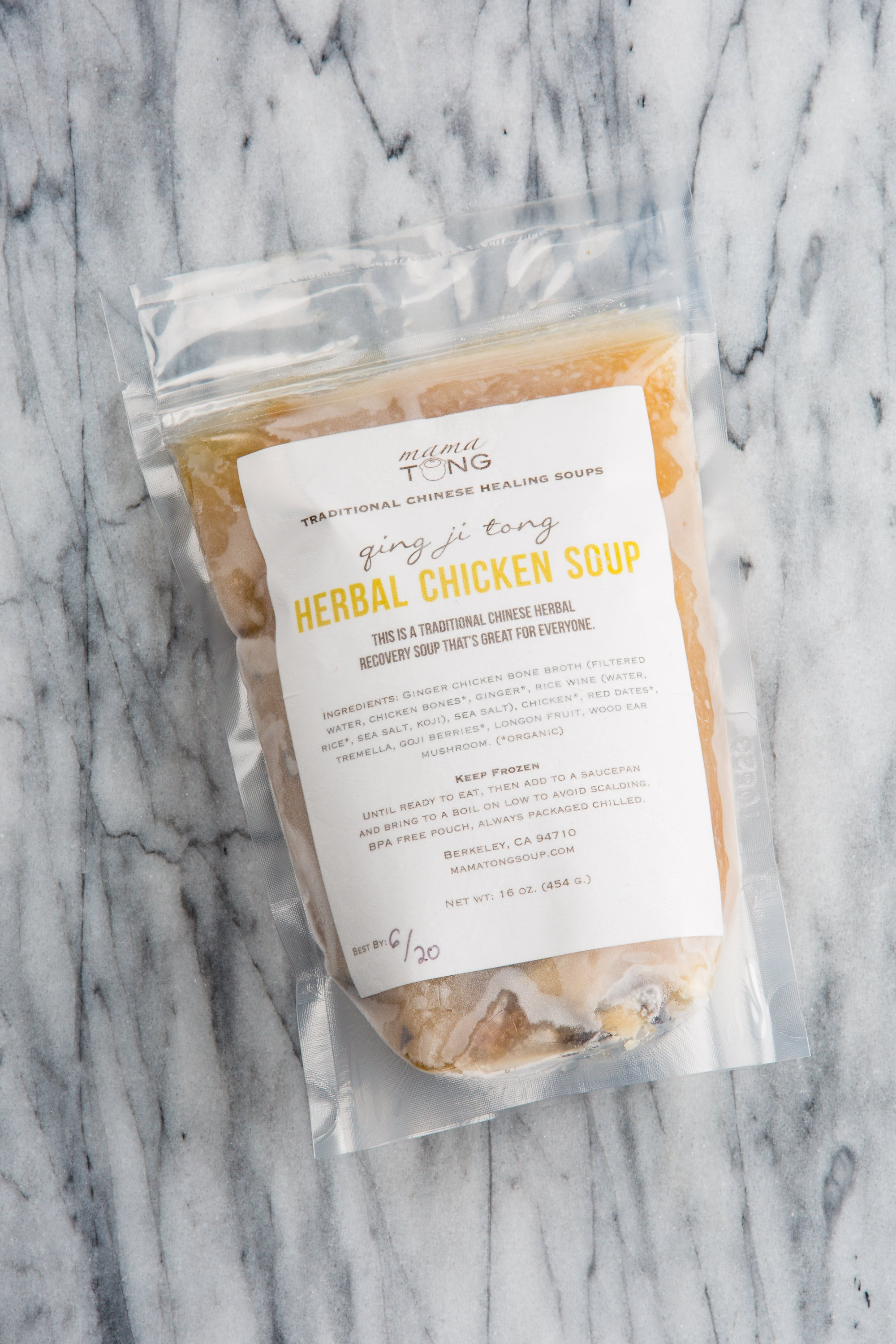 Herbal Chicken Soup: 16oz