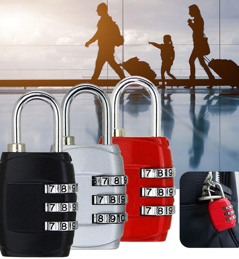 Traditional 3 Digit Luggage Lock