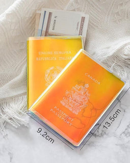 Transparent Passport Holder