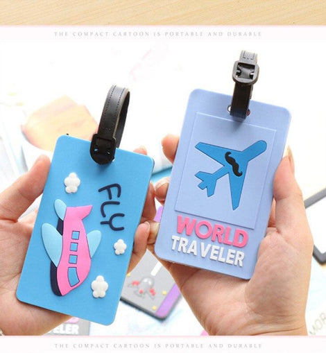 Travel Enthusiast Luggage Tag