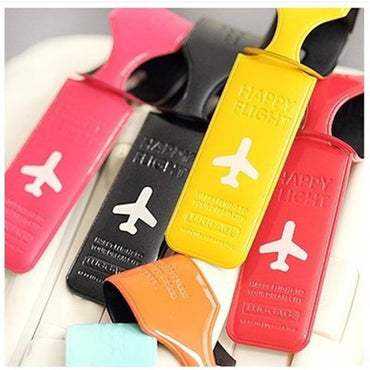 Practical Leather Luggage Tag