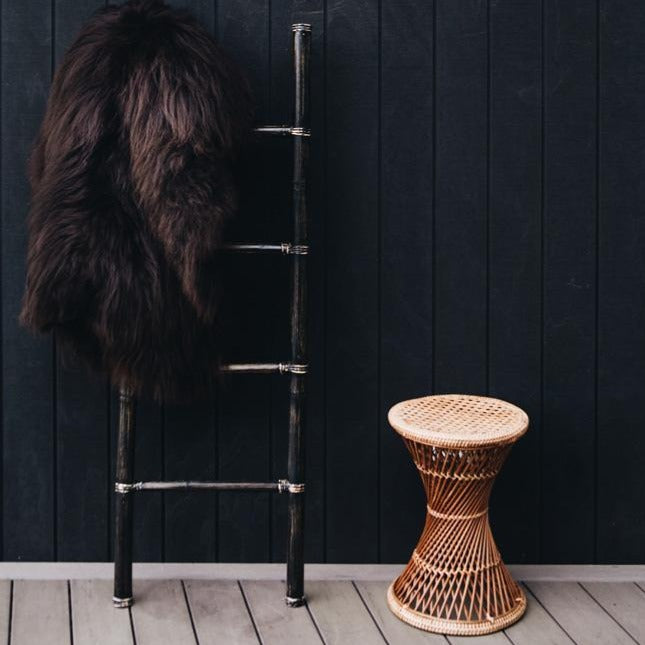 icelandic long hair sheepskin from corcovado furniture new zealand