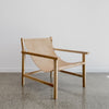 tan leather sling chair nz