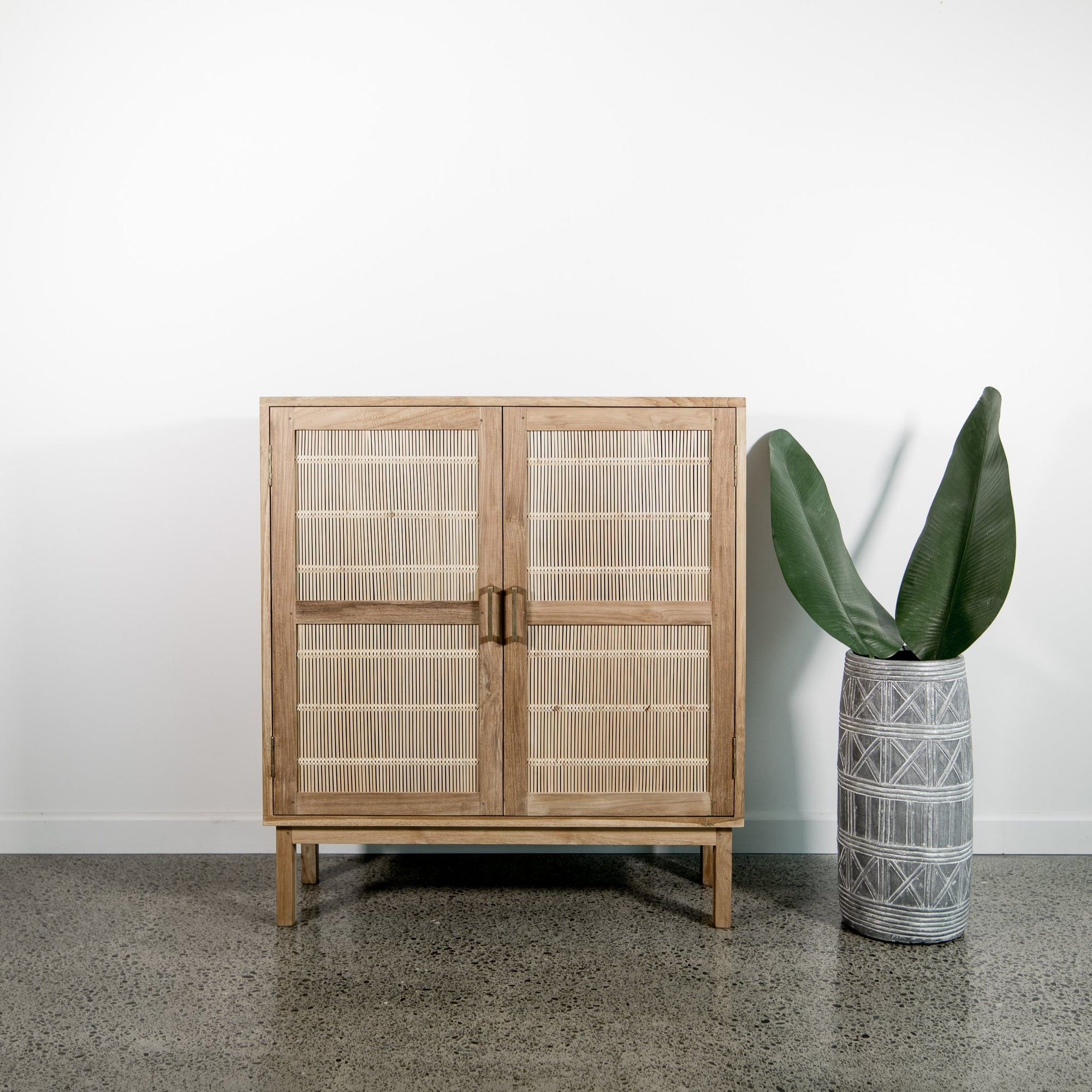 The Raffles Bamboo Cabinet