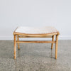 small cowhide stool bench seat nz