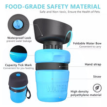 Load image into Gallery viewer, Portable Outdoor Pet Water Dispenser