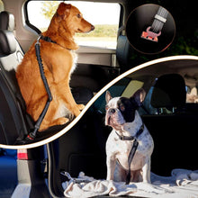 Load image into Gallery viewer, Adjustable Dog Seat Belt
