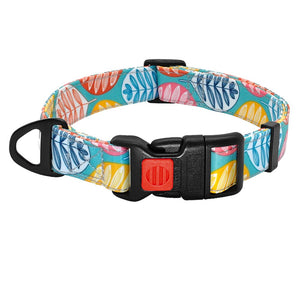 Nylon Printed Dog and Cat Collar