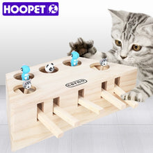 Load image into Gallery viewer, Wooden Cat Toy