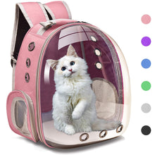 Load image into Gallery viewer, Transparent Cat or Small Dog Backpack