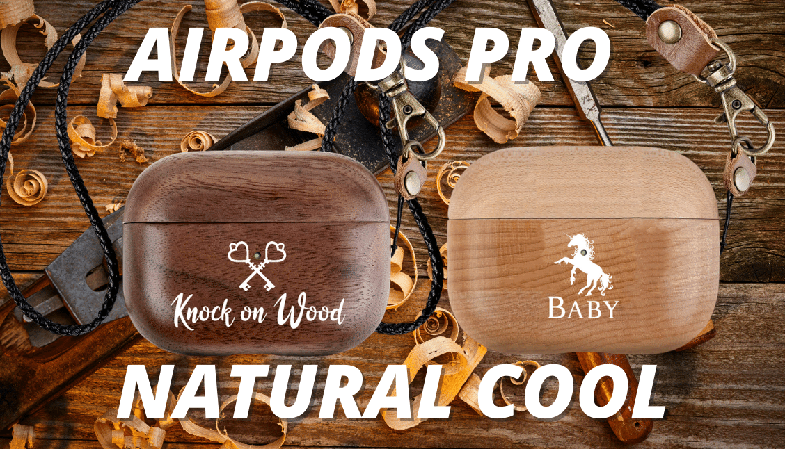 AirPods Pro Custom Genuine Wood Airpod Pro Case