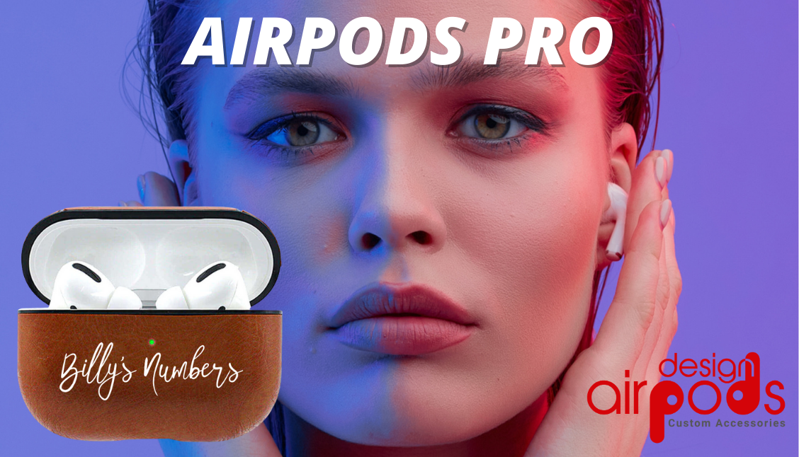 AirPods Pro Leather Custom Case