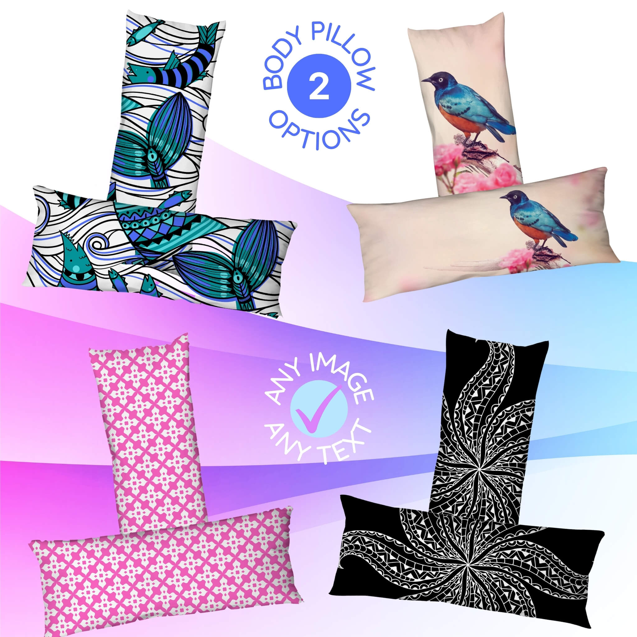 Custom 54 Inch Body Pillow I Design A Giant Pillow at Design AirPods