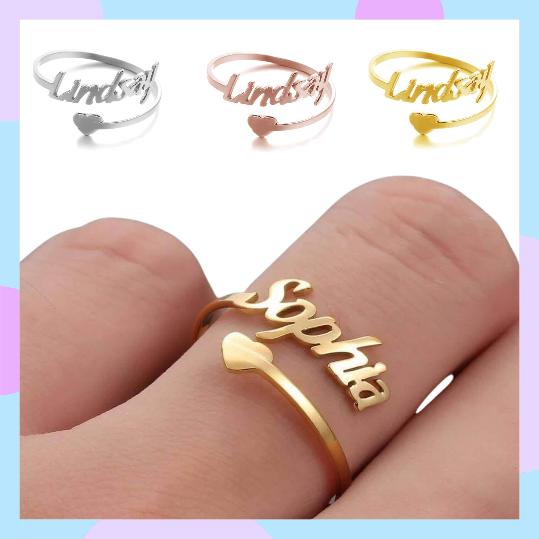 Design AirPods Custom Made Jewelry I Create Your Own Rings and Necklaces