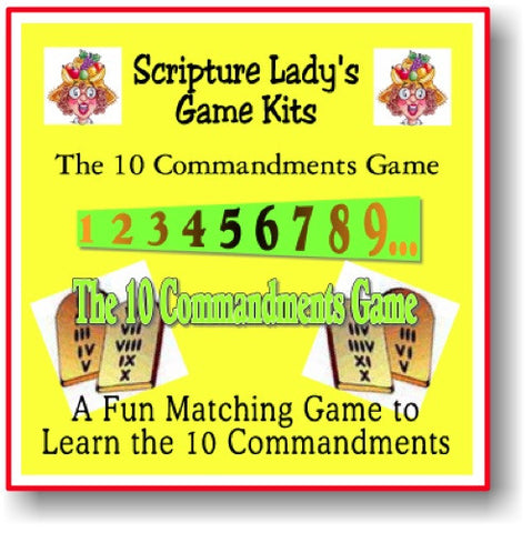 """The Ten Commandments"" Game"