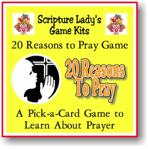 """20 Reasons to Pray"" Game"
