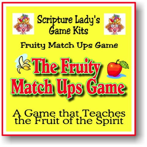 """Fruit of the Spirit"" Game"