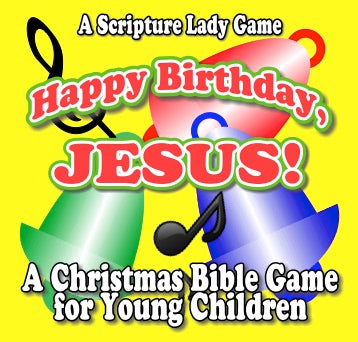 """Happy Birthday, Jesus"" - A Christmas Bible Activity for Young Children by The Scripture Lady"