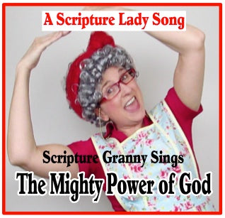"""The Mighty Power of God"" Sung by Scripture Granny  (Song and Video Download)"