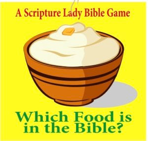Which Food is in the Bible - A Downloadable Bible Activity for Young Children