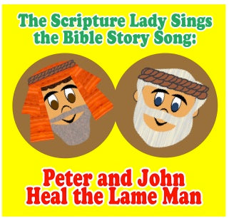 """Peter and John Heal the Lame Man"" - A Bible Story Song Based on Acts 3(Song and Video Download)"