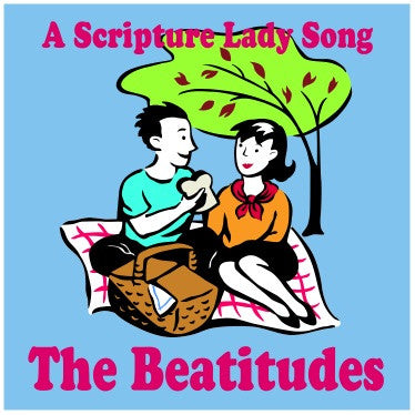 """The Beatitudes"" - A Bible Verse Song to Learn the Beatitudes from the Sermon on the Mount [Single Song Download]"