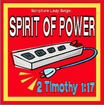 """Spirit of Power"" - A Bible Verse Song for 2 Timothy 1:7 [Single Song Download]"
