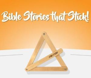 Set of Bible Story Sticks