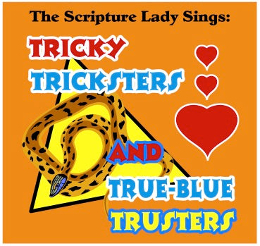 """Tricky Tricksters"" Single Song Download: A Scripture Lady Bible Theme Song"