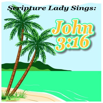 """John 3:16"" - A Bible Verse Song / Hawaiian Style (Song and Video Download)"