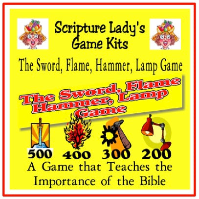 "Downloadable ""Sword, Flame, Hammer, Lamp"" Game"