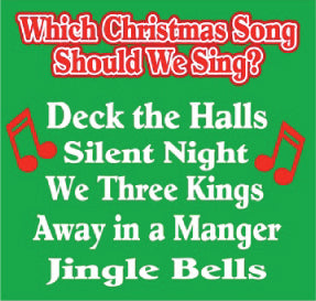 """Which Christmas Song Should We Sing""  A Bible Christmas Song and Game by The Scripture Lady (Song and Video Download)"