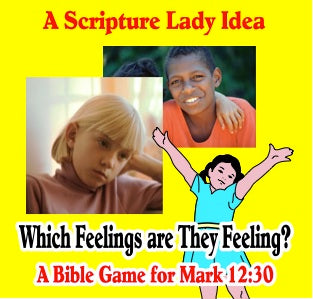 Which Feelings are They Feeling? - A Downloadable Bible Game for Preschoolers