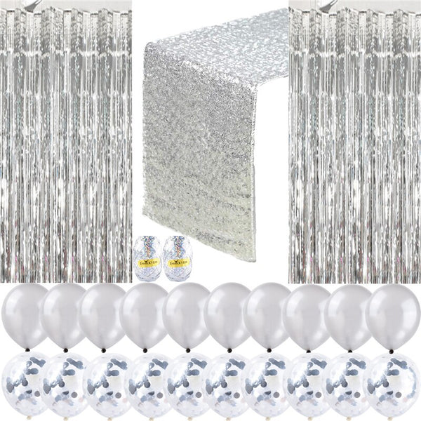 Home Decor Sequin Wedding Balloon Party Stage 25 Pcs/set