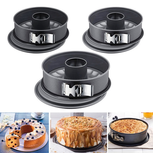 Kitchen Cook Non-stick Carbon Steel Springform Pan Pumpkin Pan Round Cake Pan