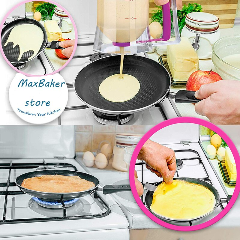 Kitchen Tool Pancake Cupcake Baking Cook Waffles Muffin