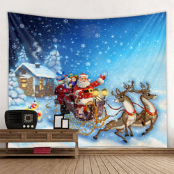Christmas Tapestry Wall Art Hanging Tapestry Decoration Household