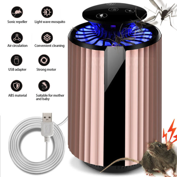 Electric Mosquito Killer Lamp LED Bulb Insect Trap Light