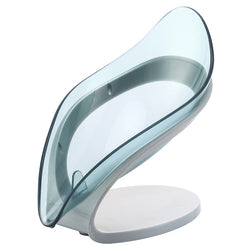 Bathroom Leaf Shape Soap Box Holder Dish Storage Plate Tray Case