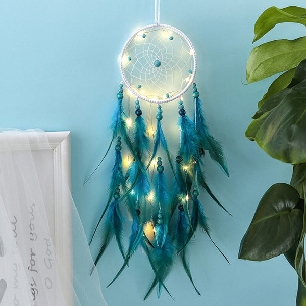 Home Decoration Dreamcatcher Traditional Feather Wall Hanging Wind Chimes