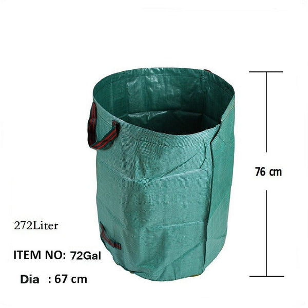 Garden Trash Portable Collapsible Can Pop-Up Camping Picnic Bucket Tools