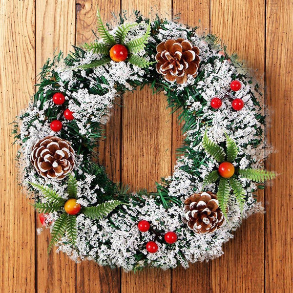 Wall Hanging Christmas Wreath Party Ornament Home Decor