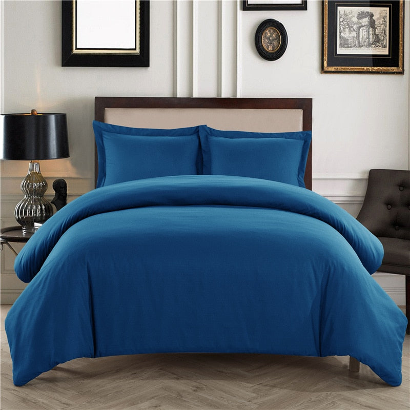 Bedding Sets Hotel Duvet Cover Set Pure Color Comforter