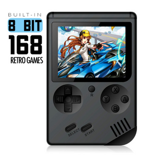 8-bit Retro game console - 168 Built-in Classic Games - agearpie
