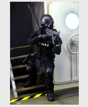 12'' Special Forces Action Figure - SWAT