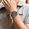 PAGANI DESIGN Luxury Sports Chronograph Watch Waterproof - agearpie
