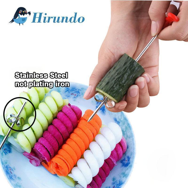 Hirundo Creative Vegetable Manual Spiralizer
